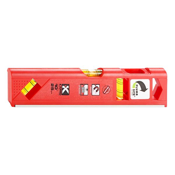"""Kapro 929 Torpedo Toolbox Level, Magnetic - 10"""""""