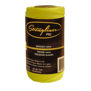 Stringliner Mason's Line Replacement Rolls - 1/4 Lb. 250'-270'